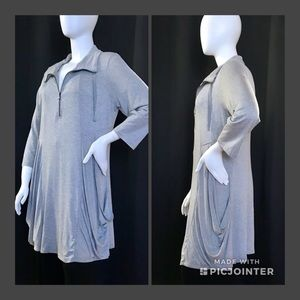HAANI pocketed tunic